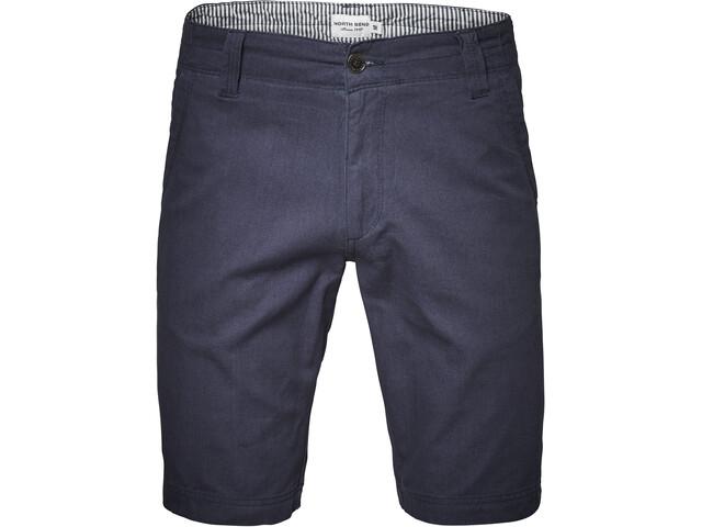 North Bend Epic Pantalones Cortos Elásticos Hombre, peacoat blue